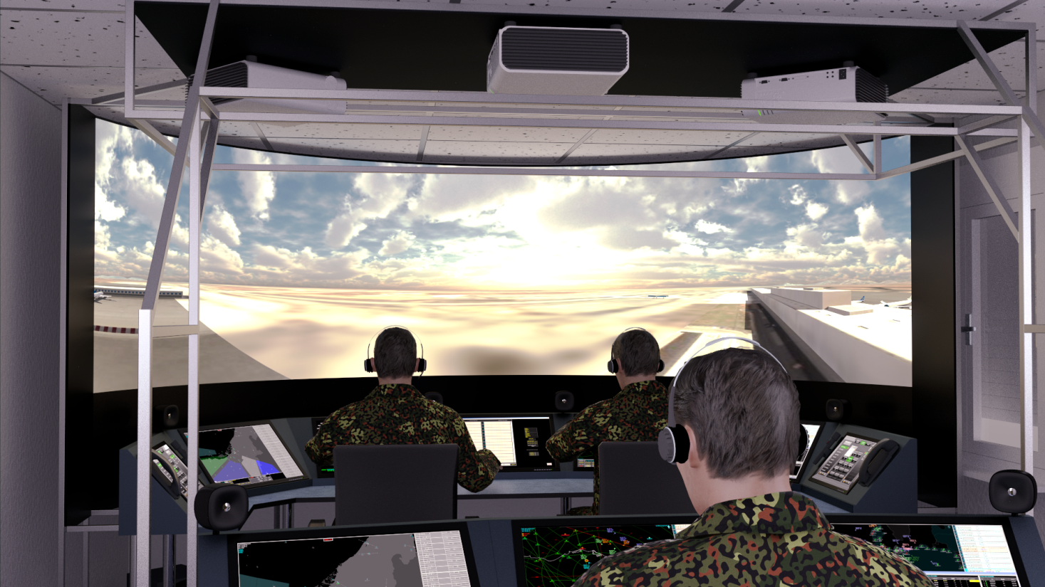 CBAST™ - Solutions for Air Traffic Control Training | e